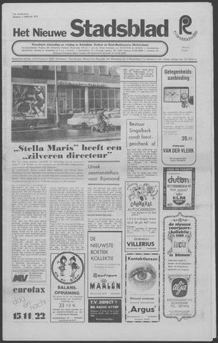 Het Nieuwe Stadsblad 1972-02-04