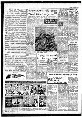 Rotterdamsch Parool / De Schiedammer 1957-10-30