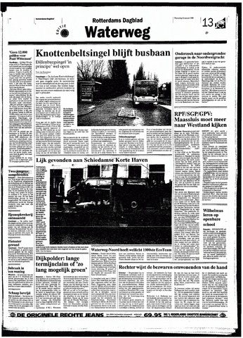 Rotterdamsch Nieuwsblad / Schiedamsche Courant / Rotterdams Dagblad / Waterweg / Algemeen Dagblad 1998-01-21