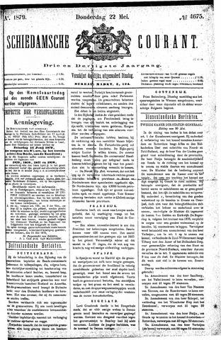 Schiedamsche Courant 1879-05-22