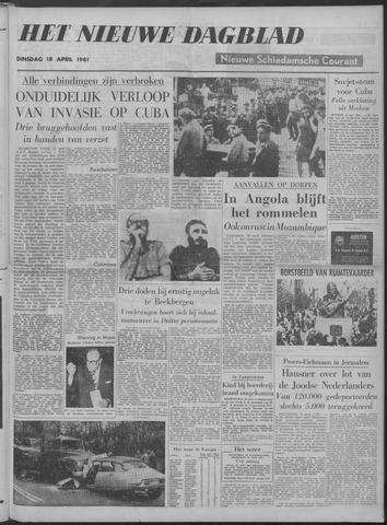 Nieuwe Schiedamsche Courant 1961-04-18