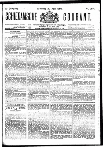 Schiedamsche Courant 1898-04-30