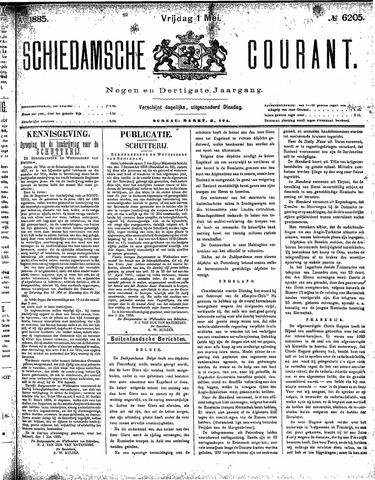 Schiedamsche Courant 1885-05-01