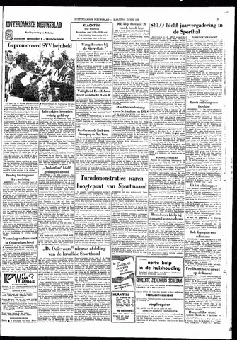 Rotterdamsch Nieuwsblad / Schiedamsche Courant / Rotterdams Dagblad / Waterweg / Algemeen Dagblad 1966-05-23