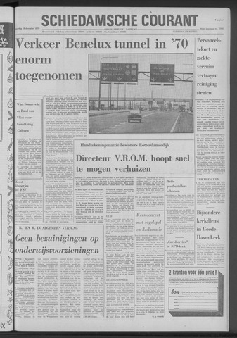 Rotterdamsch Nieuwsblad / Schiedamsche Courant / Rotterdams Dagblad / Waterweg / Algemeen Dagblad 1970-12-19