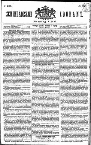 Schiedamsche Courant 1866-05-07