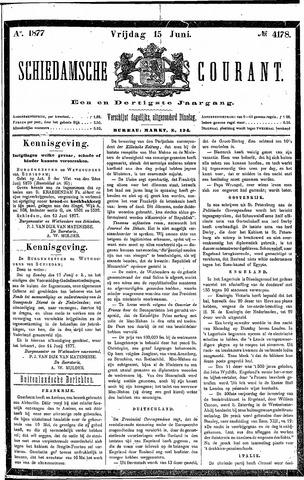 Schiedamsche Courant 1877-06-15