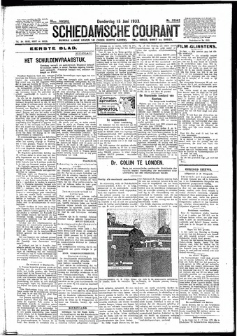 Schiedamsche Courant 1933-06-15