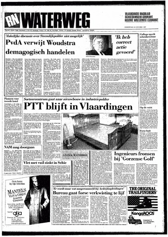 Rotterdamsch Nieuwsblad / Schiedamsche Courant / Rotterdams Dagblad / Waterweg / Algemeen Dagblad 1987-10-22