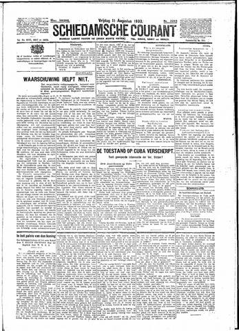 Schiedamsche Courant 1933-08-11