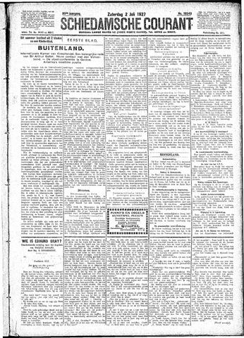Schiedamsche Courant 1927-07-02