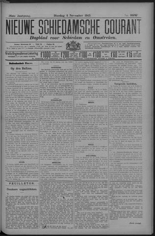 Nieuwe Schiedamsche Courant 1913-11-04