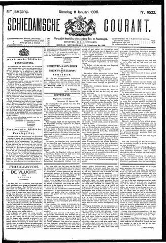 Schiedamsche Courant 1898-01-11