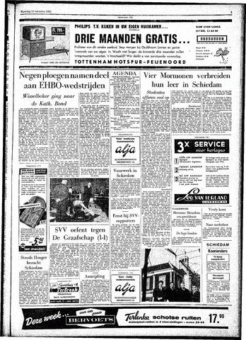 Rotterdamsch Parool / De Schiedammer 1961-11-13