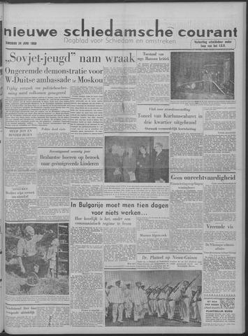 Nieuwe Schiedamsche Courant 1958-06-24