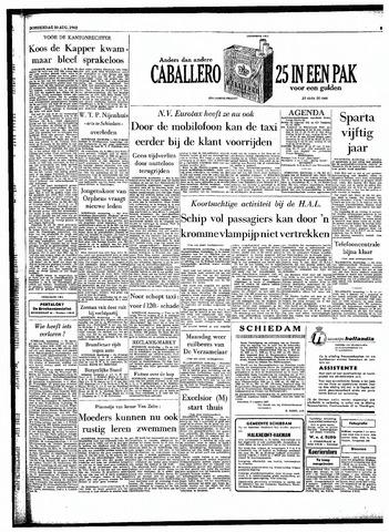 Rotterdamsch Parool / De Schiedammer 1962-08-30