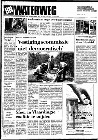 Rotterdamsch Nieuwsblad / Schiedamsche Courant / Rotterdams Dagblad / Waterweg / Algemeen Dagblad 1987-06-05