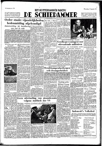 Rotterdamsch Parool / De Schiedammer 1949-08-03