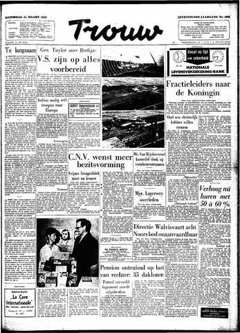 Trouw / De Rotterdammer 1959-03-14