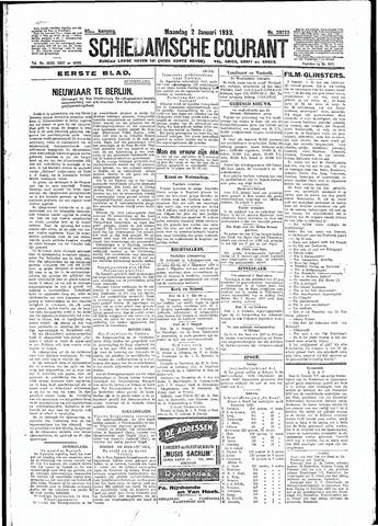 Schiedamsche Courant 1933-01-02