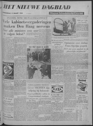 Nieuwe Schiedamsche Courant 1962-03-08