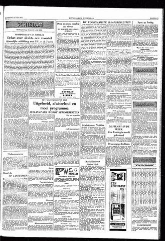 Rotterdamsch Nieuwsblad / Schiedamsche Courant / Rotterdams Dagblad / Waterweg / Algemeen Dagblad 1953-07-04