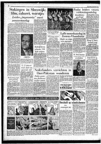 Rotterdamsch Parool / De Schiedammer 1957-01-14