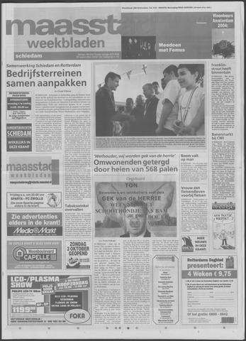 Maaspost / Maasstad / Maasstad Pers 2004-09-29