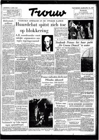 Trouw / De Rotterdammer 1957-06-05