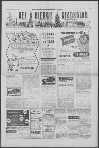 Het Nieuwe Stadsblad 1956-09-05