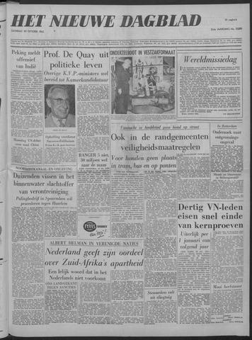Nieuwe Schiedamsche Courant 1962-10-20