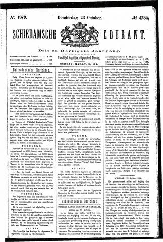 Schiedamsche Courant 1879-10-23