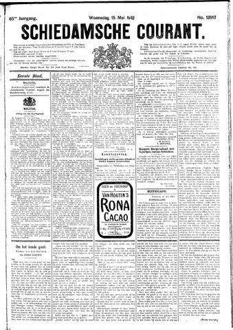 Schiedamsche Courant 1912-05-15