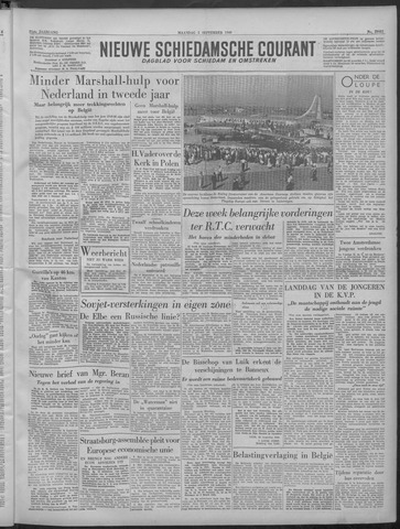 Nieuwe Schiedamsche Courant 1949-09-05