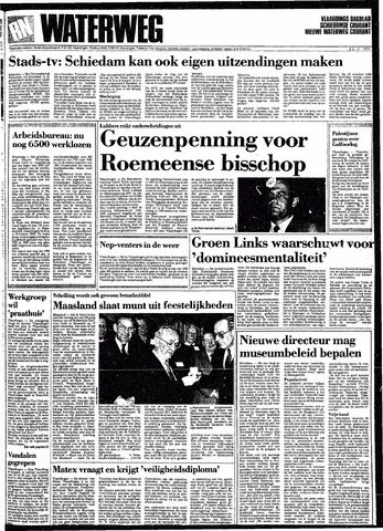 Rotterdamsch Nieuwsblad / Schiedamsche Courant / Rotterdams Dagblad / Waterweg / Algemeen Dagblad 1991-01-23