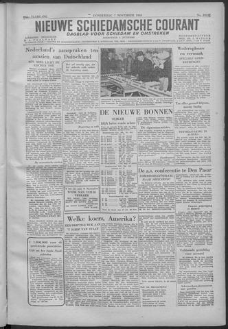 Nieuwe Schiedamsche Courant 1946-11-07