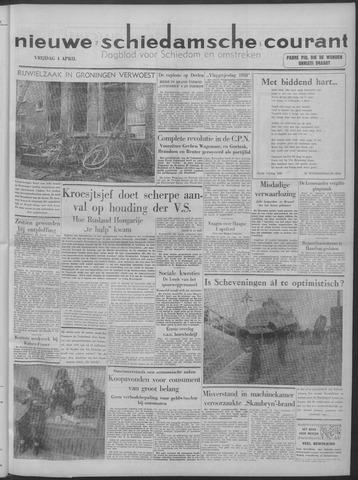Nieuwe Schiedamsche Courant 1958-04-04