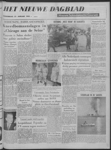 Nieuwe Schiedamsche Courant 1962-01-25