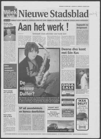 Het Nieuwe Stadsblad 2007-01-24