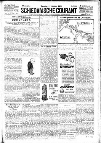 Schiedamsche Courant 1927-10-22