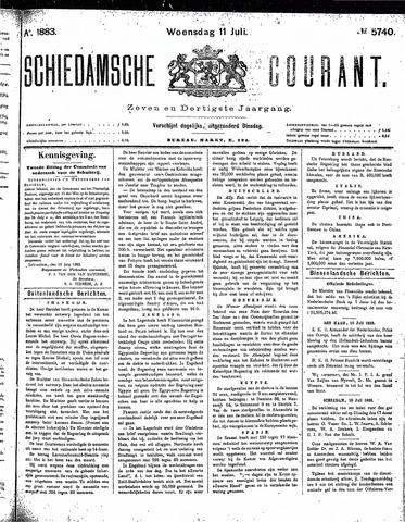 Schiedamsche Courant 1883-07-11