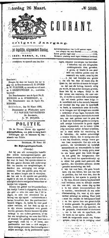 Schiedamsche Courant 1881-03-26
