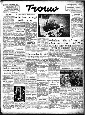 Trouw / De Rotterdammer 1953-01-27