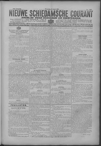 Nieuwe Schiedamsche Courant 1925-04-29
