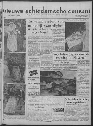 Nieuwe Schiedamsche Courant 1958-04-11