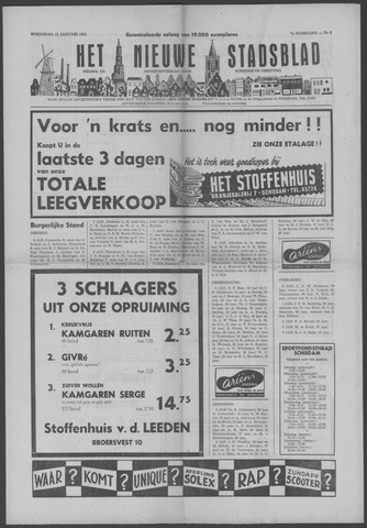 Het Nieuwe Stadsblad 1955-01-12
