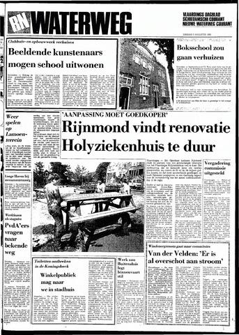 Rotterdamsch Nieuwsblad / Schiedamsche Courant / Rotterdams Dagblad / Waterweg / Algemeen Dagblad 1983-08-09