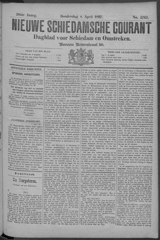 Nieuwe Schiedamsche Courant 1897-04-08