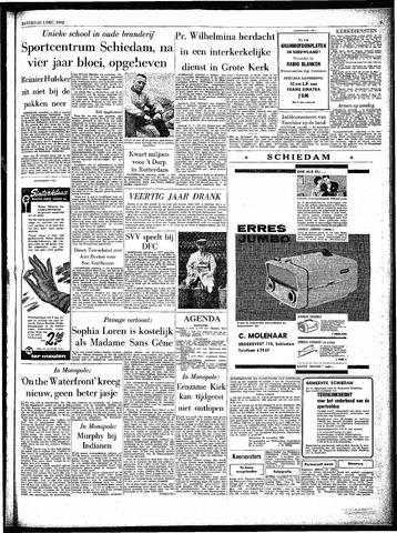 Rotterdamsch Parool / De Schiedammer 1962-12-01