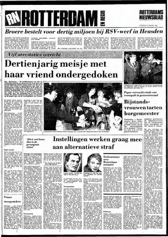Rotterdamsch Nieuwsblad / Schiedamsche Courant / Rotterdams Dagblad / Waterweg / Algemeen Dagblad 1983-01-08